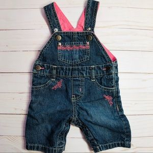 Baby Jean Overalls Girl by Genuine Baby OshKosh